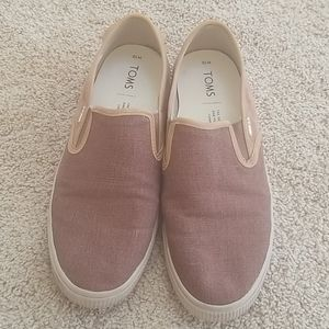 TOMS Brown Size 10 Brown Loafers